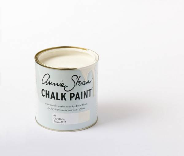 Old white Chalk Paint(tm) dekorativ Paint by Annie Sloan