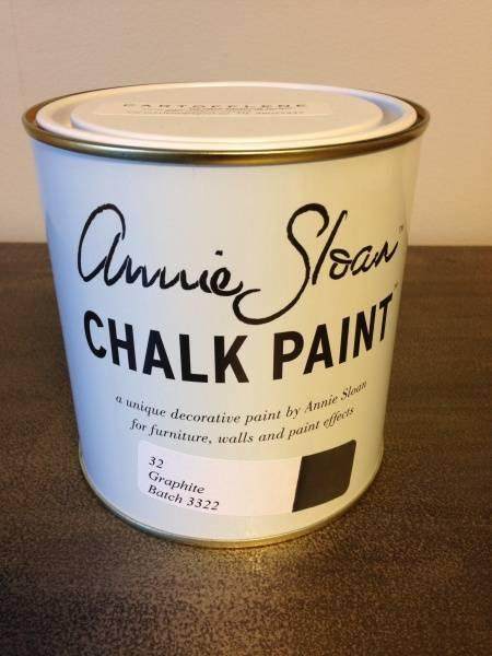 Prøveboks 120ml, Graphite Chalk Paint(tm) dekorativ Paint by Ann
